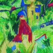 """Ernst Ludwig Kirchners expressionistische """"Villen"""" Ergebnis: 296.700 Euro"""