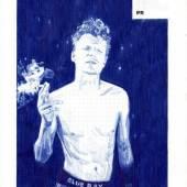 Nadine Wölk: Blue Ray, 2018, Kugelschreiber, 29,7 x 21 cm, Foto: Nadine Wölk