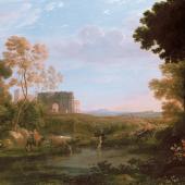 Claude Lorrain, Pastorale avec l'Arc de Constantin, 1648 (Detail) , Kunsthaus Zürich, Geschenk des Holenia Trust im Andenken an Joseph H. Hirshhorn, 1996
