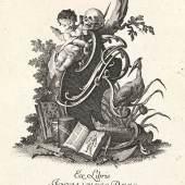 Johannes E. Nilson, Exlibris Johannes Reis, 1756, Germanisches Nationalmuseum
