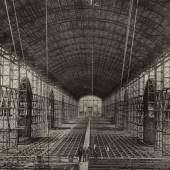 Bau des Industriepalasts, 1872 Fotografie © Wien Museum