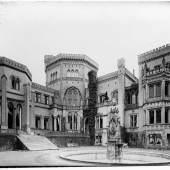 Carl Daniel Freydanck: Palais S. K. H. des Prinzen Friedrich am Babertsberge, 1838, Öl/Leinwand. Foto: KPM-Archiv / SPSG