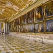 Blick in die westliche Halle der Bildergalerie im Park Sanssouci. Foto: SPSG/Hans Bach