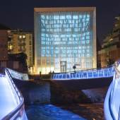 Ansicht des Museion am Abend (c) museion.it