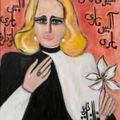 Fahrelnissa Zeid, Marie-Alice, 1988, oil on canvas (est. £70,000-100,000)