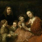 Family portrait, Rembrandt Harmensz. van Rijn, c. 1665. Herzog Anton Ullrich Museum, Braunschweig
