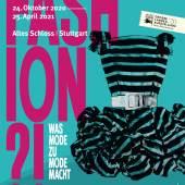"Key Visual türkis, Cocktailkleid GLA 2020: ""Fashion?! Was Mode zu Mode macht"" © Landesmuseum Württemberg"