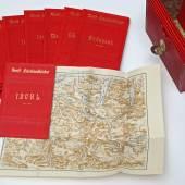 Das besondere Objekt ab 14. Juli im Prunksaal zu sehen: Kaiserin Elisabeths Reisehandbücher – Österreichisch Ungarische Städteführer – © Österreichische Nationalbibliothek