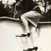 Theodore Lux Feininger (1910–2011) Gret Palucca im Haus von Lyonel Feininger, 1928