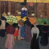 The Market Felix Vallotton