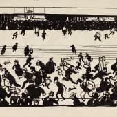 Félix Vallotton, Etude pour l'Ondée, 1901, est. £2,000 – 4,000