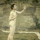 Ferdinand Hodler, Zwiegespräch mit der Natur, 1884, Foto: © Kunstmuseum Bern