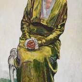 Ferdinand Hodler - Bildnis von Emma Schmidt-Mueller