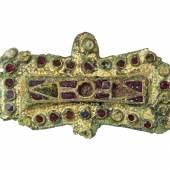 Bild: Fibel von Elstorf (um 800 n. Chr.), Copyright: Archäologisches Museum Hamburg