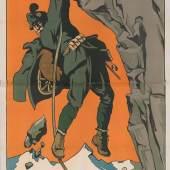 """""""Der österreichischungarische Krieg in 3000  Meter Höhe"""" Filmplakat Wien, 1915"""