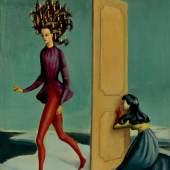 Leonor Fini Due Donne (Zwei Frauen), 1939 Öl auf Leinwand, 34 x 24,5 cm  Sammlung Ulla und Heiner Pietzsch, Berlin © VG Bild-Kunst, Bonn 2015, Fotograf: Jochen Littkemann, Berlin