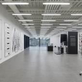 "Blick in die Ausstellung ""Michael Riedel"" in der Modernen Galerie des Saarlandmuseums © Michael Riedel, 2017; Foto: Felix Krebs"