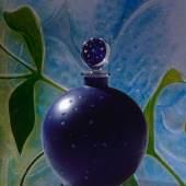 Sonderschau Parfum und Glas – Séduction totale  101  «Dans la nuit», René Lalique, für die Firma Worth, Paris, 1924 Museum für Gestaltung Zürich, Kunstgewerbesammlung