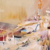 Oil on paper 86 x 61 cm
