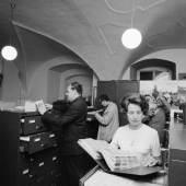 Foto-Film-Ton, Stefan Amsüss, Landesstelle für Bild- und Tondokumentation, Archivraum, Juni 1966
