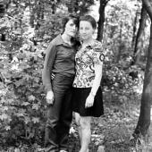 Vasilii Lefter, Porträt zweier Frauen der moldauischen Landbevölkerung, 1970er-Jahre © Tatiana Fiodorova