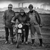 Stefan Moses Arbeiter im Tagebau Borna Fotografie 1991 © Else Bechteler-Moses