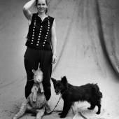 Stefan Moses Schäferin, Priemen Fotografie 1991 © Else Bechteler-Moses