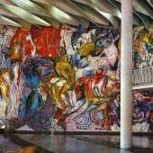 Foyer StadthallecHorst Zickelbein 1969 74 BK Heft5 1975 S217 w-e1611757393593