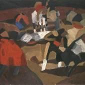 Francis Picabia Tauromachie, ca. 1912 Privatsammlung, Neuilly sur Seine; Courtesy Galerie 1900-2000, Paris Foto: Privatsammlung © VBK Wien, 2012