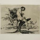 Francisco de Goya, Esto es peor (Dies ist schlimmer), ca. 1812-1815, Radierung und Aquatinta, aus dem Zyklus Los Desastres de la Guerra [Desastres 37], Stadtmuseum Oldenburg