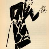 Frans Masere, Porträt Charlie Chaplin