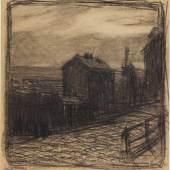 Frantisek Kupka, Le haut de la place Ravignan, 1902, est. £1,000 – 2,000