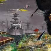 Franz Radziwill Mechanische Zeit ist nicht des Schöpfers Zeit, 1947 Öl auf Leinwand 110 x 138cm Ergebnis: 281.600 Euro