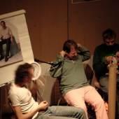 Franz West, Jason Rhodes, Gelitin, Österreichisches Kulturinstitut NY 2005; Foto Markus Mittringer