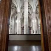 Franziskanerkirche, Ansicht des spätgotischen Chores vom Umgang der Chorkapellen; Standpunkt: über der Kreuzkapelle, Aufnahme: Ulrich Ghezzi, Oberalm © Residenzgalerie Salzburg