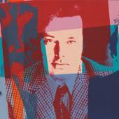 Andy Warhol, The Three Gentlemen, 1982 . Acryl/Siebdruck/Leinwand, 101,8 x 203,4 cm © 2020 The Andy Warhol Foundation for the Visual Arts, Inc./Licensed by Artists Rights Society (ARS), New York