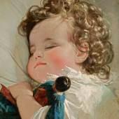 Friedrich von Amerling Porträt der Prinzessin Marie Franziska von Liechtenstein im Alter von zwei Jahren, 1836 Öl auf Karton © LIECHTENSTEIN. The Princely Collections, Vaduz–Vienna