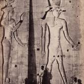 Sculptures in the Great Temple Philae 1857 aus: Francis Frith, Upper Egypt and Ethiopia, London 1862 © Courtesy Sammlung OstLicht, Wien
