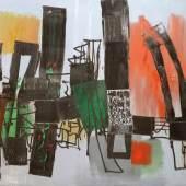 """Fritz Winter 1905 Altenbögge - 1976 Herrsching - """"Der Ablauf"""". Aufrufpreis: 65.000 € [65.000 €] Schätzpreis: 70.000 € [70.000 €]"""