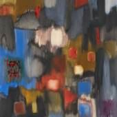 Fritz Winter (1905 – 1976)  Blühender Garten   1961   Öl auf Leinwand   90 x 80 cm Taxe: 40.000 – 60.000 €