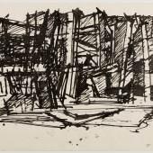 Fritz Wotruba, Skizze zu einer Architektur, 1966, Foto: Harald Eisenberger / Belvedere, Wien