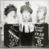 Fritzi Löw und Hedwig Schmidl, Dekorobjekte für die Kunstschau 1920 (Fotografie) © MAK