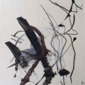 Hannes Mlenek 1992, Collage 6, 20x22cm
