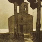 Kapelle am Meer, F.X. Hoch, vor 1903, Foto: Axel Killian © Städtische Museen