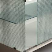 Gerrit Rietveld: Drahtglas-Kommode Detail