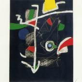 Galeria Joan Gaspar - Joan Miro - Llibre dels sis sentits VI., 1981