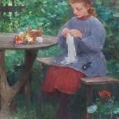 Galerie Decker Erlesene Gemälde des 19. und frühen 20. Jhdts.  Stand 27 Webseite: http:/www.kunsthandel-decker.de