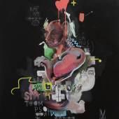 Josef Wurm (geb. 1984) Ohne Titel Acryl auf Leinwand, 2015, 140 x 120 cm  Zur Verfügung gestellt von: galerie GALERIE