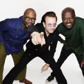 Gates + Bono + Adjaye, Photo Credit - Rankin