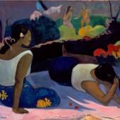Paul Gauguin Arearea no varua ino (Sous l'empire du revenant), 1894 Öl auf Leinwand, 60 x 98 cm Ny Carlsberg Glyptotek, Copenhagen